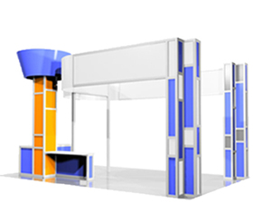 Custom Fabric Exhibit Systems