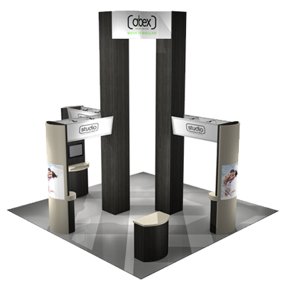 Modulus B Modular Exhibit Systems